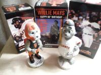 5 Giants' bobbleheads:.  1. Pablo Sandoval gnome in box