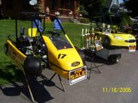 This is a 5 kart family racing team of my Daughter and