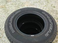 Goodyear Wrangler SR-A 255/75/17 (5 of them) Came off a