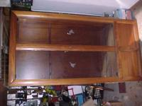 Custom built Mahogany Gun Cabinet, by Charles Thompson,