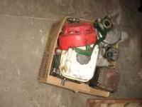 for parts or repair has splined shaft. with gear