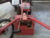 Mtd 5 hp rear tine tiller, forward and reverse,