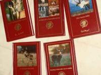 (5) Informational Hunting books. Hard back, excellent