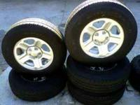 (5) Newer Model Jeep Wrangler Wheels Wheels & Tires in