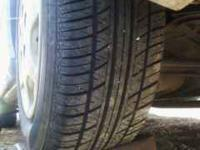 have 5 like new tires they are well over 3/4 left on