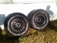 Set of 4, plus a Spare.  Mickey Thompson Baja Mtz 35 x