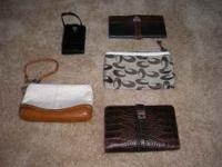 TWO COACH MAKE UP BAGS - $20.00 EACH TWO BRIGHTON