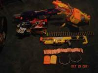 5 Nerf dart guns. Will sell separately or all together.