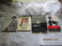 There are four books about Frank Sinatra, three are