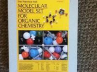 Molecular Model Set for Organic Chemistry - $35 OBO