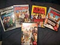 Just LOWERED PRICE TO ONLY $10.00 !! 5 Movies sold as a
