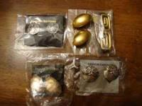 5 Pair of Brand New Clip On Earrings. Asking $15.00 -