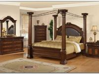 Stunning Ashley Grand Manor bedroom set! Paid over