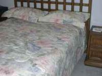 Thomasville 5 piece bedroom set with Mattress and