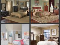 Brand New Bedroom Sets. Includes: Complete headboard,