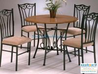 Brand name brand-new in box 5 piece dinette set. Matte