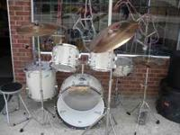 I have 2 different drum sets that are vintage. Mapex
