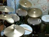This drum set is my baby plain and simple...brand is