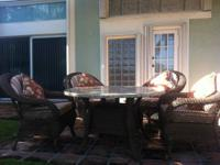 I have a 5 piece Outdoor Wicker Dining Set in great