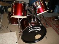 "Really nice 5-piece Pulse drum kit with 13"" Ludwig"