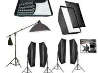 CONTACT 909-743-XXXXHuge Light kit. 5 point lighting