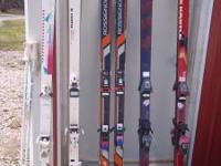 Selling 5 sets of snow skis. 1 set ROSSIGNOL 630's. 1
