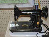 1.  singer 99k made in Great Britain.  2 small issues.
