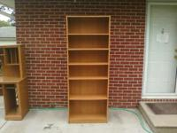 I have a wood shelve unit it's a little beat up. If you