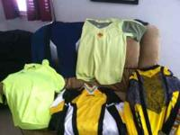 I have 5 goalie jerseys for soccer they are from medium