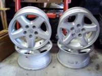 4 jeep mags 15x8, 5x4.5 bolt pattern. call  Thanks (