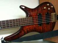 Parting ways with my 5 string Carlo Robelli Bass guitar