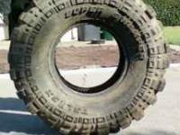 35 x 15.5 x 15 Two (2) tires are brand new with