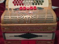 For sale a 5 Switch Castiglione Accordion in FA. Good