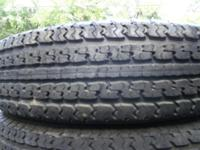 Up For Sale Is 5 Trailer RVs Tires One Is New Has Never