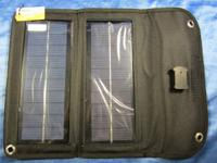 Thunderbolt 5 Watt Foldable Solar Panel Battery charger