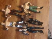 I have 5 WWE Action Figures. John Cena. The