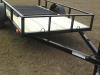 5 x 10 Utility Trailer, model 410LE main frame 2 x 3