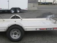 5' x 12' Aluminum Trailer 2,990lb GVWR Rear Ramp Gate