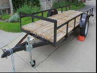 5' x 14' Beautiful Utility Trailer.- EXCELLENT