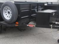 5 x 6 Jeep Trailer 2,990lb GVWR Single 3,500lb Axle 2