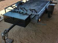 Very handy, versatile trailer that can haul, be used