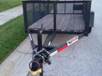 NICE Heavy Duty 5x8 Heavy Duty Trailer. Comes with ball