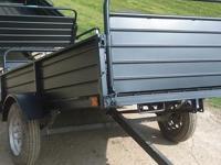 5 lugs 5 x 8 tilt trailer w mod wheels single Dexter