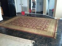 Fabulous rug will not fit in my new house cash and