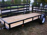 New 5'x14' Trailer 2990# GVWR Perfect for Buddy Riding