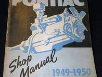 1949-1950 Pontiac Shop ManualDated January 1950, this