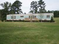 Nice, clean mobile home in beautiful country setting