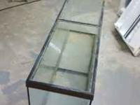 Large aquarium suitable for fish or snakes. The