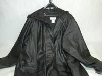 THIS IS A SIZE 14 WOMENS BEAUTIFUL FULL LENGTH HOODED