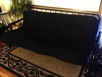 I'm moving and can't take my futon with me. Black